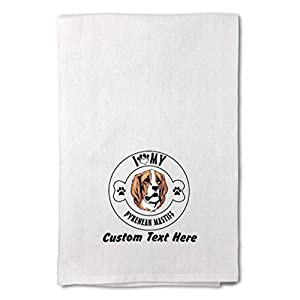 Style In Print Custom Decor Flour Kitchen Towels I Love Paw My Pyrenean Mastiff Dog Pets Dogs Cleaning Supplies Dish Towels Design Only 1
