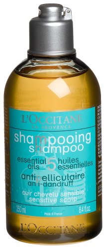 L'Occitane Aromachologie Anti-Dandruff Sensitive Scalp Shampoo, 8.4 Fl Oz
