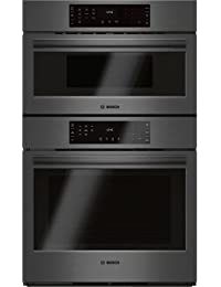Bosch 30 Black Stainless Steel 800 Series Speed Combination Oven