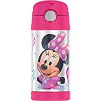 Termo Funtainer botella de 12 onzas, Minnie Mouse