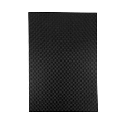 USAQ 300x200x2MM 3K Carbon Fiber Composite Panel for R/C Airframes 2MM Carbon Sheet by USAQ