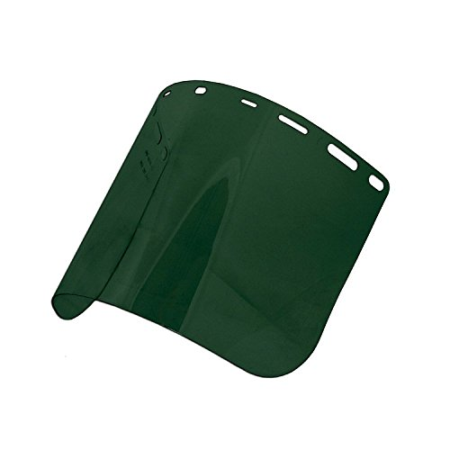 ERB Safety 15190 8166 Dark PETG Face Shields, One Size, Green by ERB (Image #1)