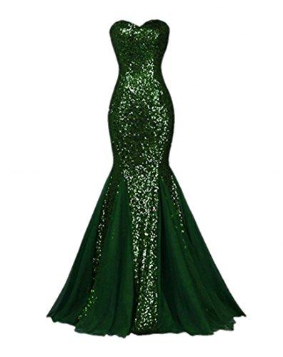 green new years dress - 3