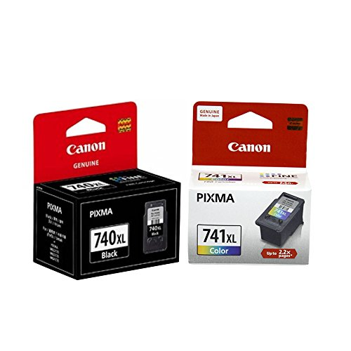 Canon Combo of PG 740XL And CL 741XL Ink Cartridge  PG 740 Black:CL 741 Color