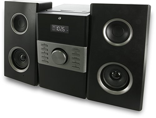 GPX HC425B Stereo Home Music System with CD Player & AM/FM Tuner, Remote Control by GPX