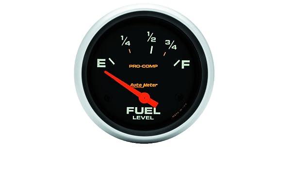 Auto Meter 5416 Pro-Comp Electric Fuel Level Gauge