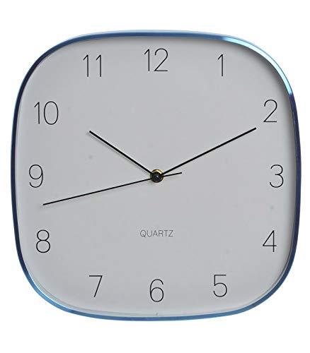 Originales Relojes de Pared en Aluminio. A Elegir (A) y (B), Diseño Chic/Moderno (28,5,5X28,5 CM).-Hogarymas- - A: Amazon.es: Hogar
