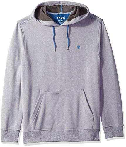 IZOD Mens Advantage Performance Solid Fleece Hoodie