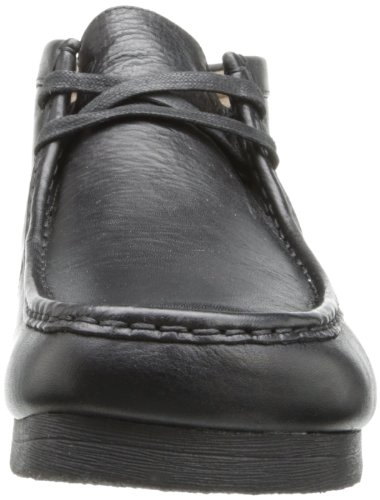 Clarks Padmore II - Botas de cuero para hombre negro negro 44