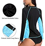 ATTRACO Ladies Zip-up one Piece Swimwear high Neck