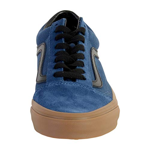 Old Dark Denim Gum Outsole Vans Baskets Bleu Skool Homme qg0xZEp