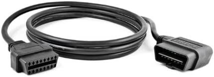 Brand New Right Angle OBDII 2/' Extension Cable Durable Thick Cord