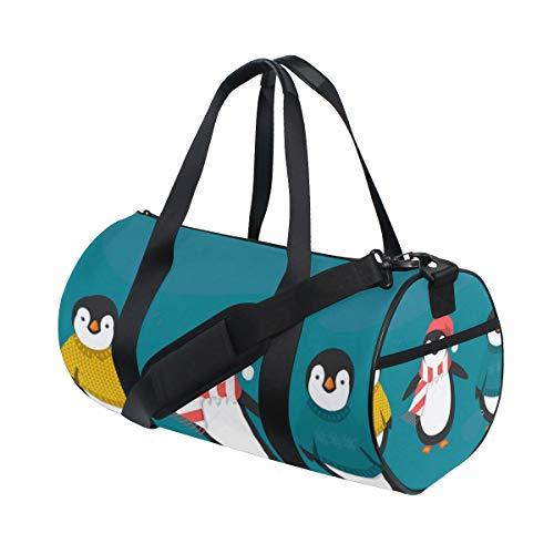 Duffel Bags Penguins Womens Gym Yoga Bag Small Fun Sports Bag for - Dadgear Messenger Mens