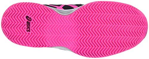 Scarpe Multicolore hot Clay Pink resolution Bambino Tennis Gs silver Asics Gel black Da 7 q6zwxXa4