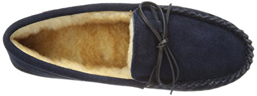 Tamarac by Slippers International 7161 Mens Camper Moccasin Navy XnXClHvh