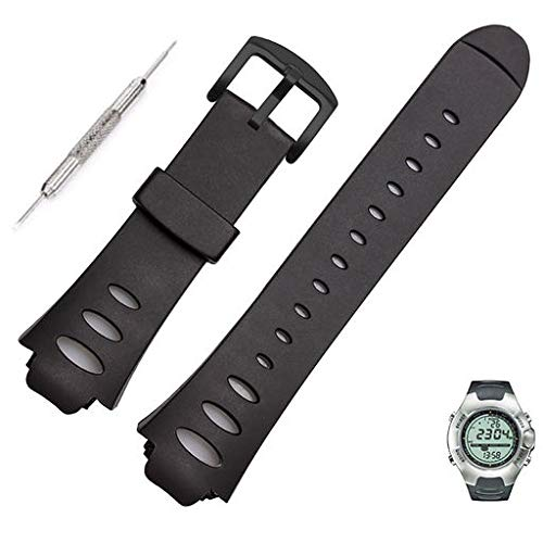 Lyperkin Suunto Observer SR Band, Fashion Soft Rubber Wristband Strap Band Replacement Accessory Bracelet Watch Band Compatible with Suunto Observer SR SS0S4723000 Smartwatch