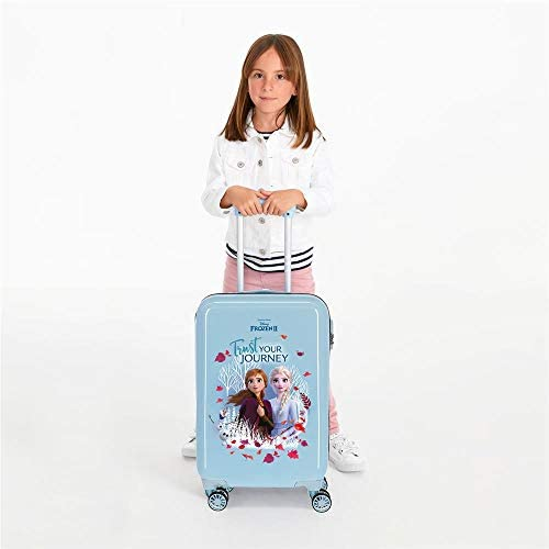Disney Valise Trolley Cabine rigide Trust your journey La Reine Des Neiges 2