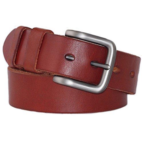 Reddish Brown Leather - 7