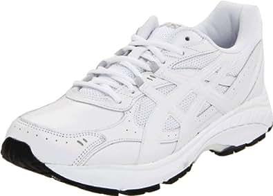 ASICS Men's GEL-Foundation Walking Shoe,White/White/Silver,14 M US