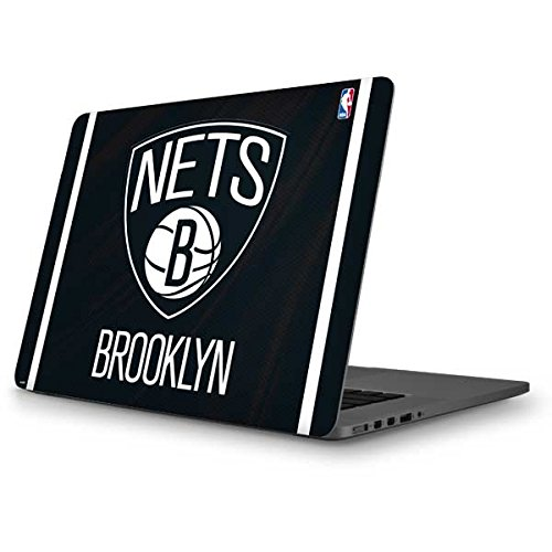 Skinit NBA Brooklyn Nets MacBook Pro 13 (2013-15 Retina Display) Skin - Brooklyn Nets Jersey Design - Ultra Thin, Lightweight Vinyl Decal Protection by Skinit