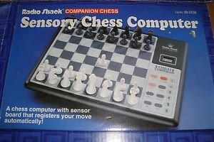 Radio Shack Companion Chess- Sensory Chess Computer- A Chess Computer with Sensor Board That Registers Your Move Automatically!
