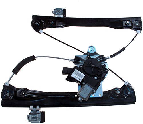 Dorman Front Left Window - Dorman 748-974 Front Driver Side Power Window Regulator and Motor Assembly for Select Chevrolet Models