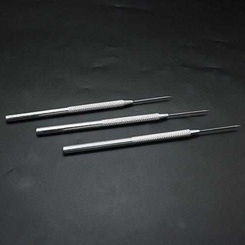(IDS Clay Modeling Sculpture Needle, Playdough Pro Needle Detail Tools, 3 Pcs)