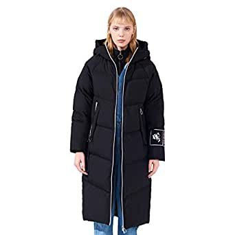 Amazon.com: BOSIDENG Women's Winter Overknee Down Jacket