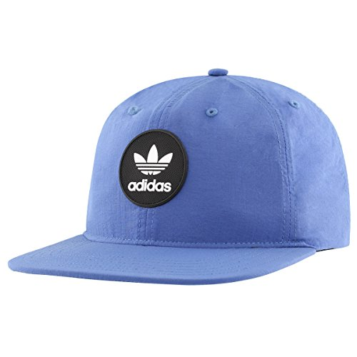 adidas Men's Originals Snapback Flatbrim Cap, Deacon Core Blue, One Size from adidas