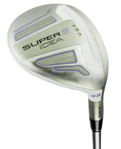 Adams Golf Super S Hybrid Golf Club (Right Hand, Graphite, Ladies, 22-Degree) -  144422150