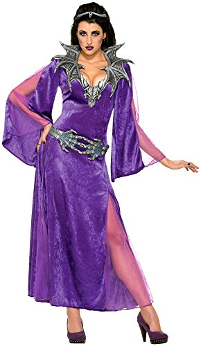 Forum Novelties Women's Dragon Sorceress Costume, Purple, Standard
