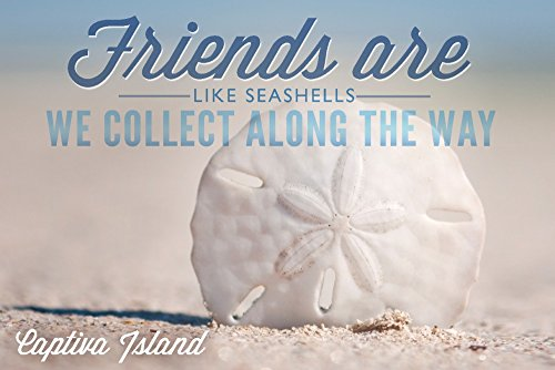 Captiva-Island-Florida-Friends-are-Like-Seashells-Sand-Dollar