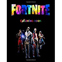 FORTNITE: FORTNITE COLORING BOOK : +50 coloring pages for kids and Adults ,+50 Amazing Drawings - All Characters…
