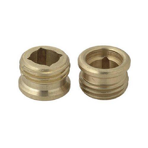 brass craft service parts scb0751 x 10 Pack, 1/2 -Inch x 20 Thread, Brass Seat by BrassCraft