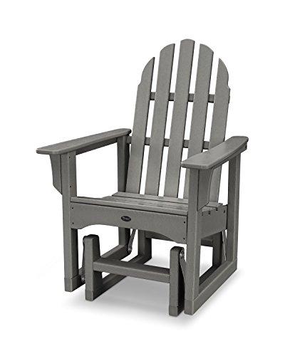 Trex Outdoor Furniture Cape Cod Adirondack Glider Chair in Stepping ()