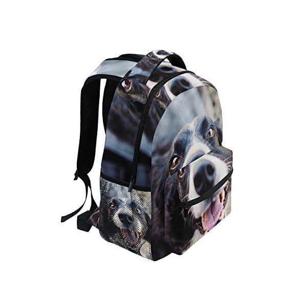 DXG1 Zaino Donna Uomini Ragazzo Ragazzo Borsa Scuola Animale Canine Portafoglio Viaggio College Spalla Grande Capacità… 2 spesavip