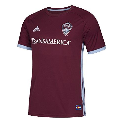 fan products of MLS Colorado Rapids Men's Replica Jersey, Large, Dark Burgundy