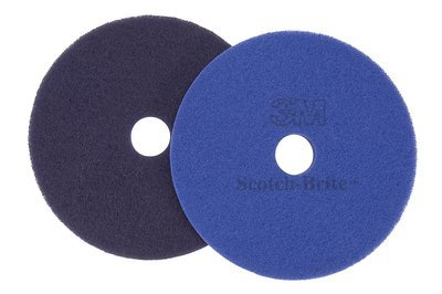 Purple Diamond Floor Pad Plus, 8 In, by Scotch-Brite