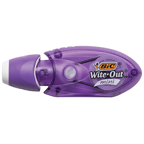 BIC Wite-Out Brand Mini Twist Correction Tape, White, 2-Count (WOMTP21) by BIC (Image #4)