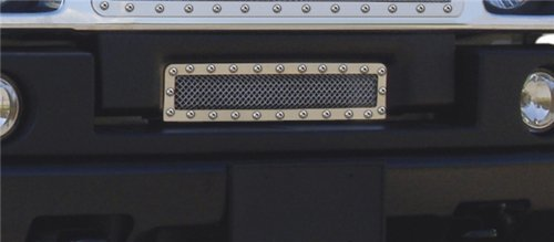(T-Rex 6722900 X-Metal Series Polished Stainless Steel Studded Bumper Grille)