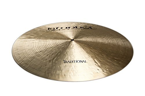 Istanbul Mehmet Cymbals Traditional Series RF-SZ19 19-Inch Flat Ride Cymbals