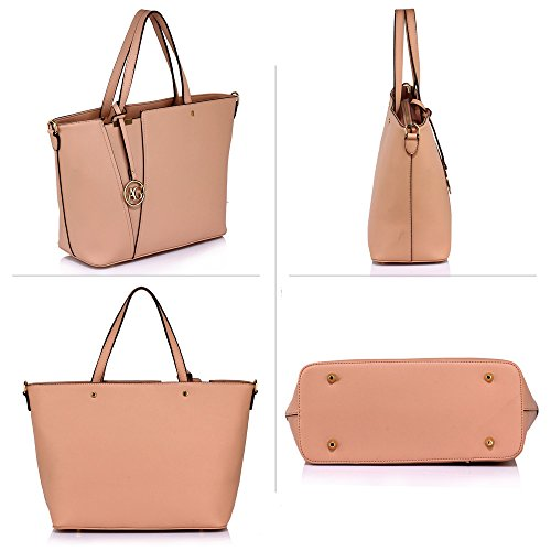 UK DELIVERY Shoulder Women's FREE Style Nude Celebrity 50 Handbag Tote SAVE Stunning wqSR8A1x