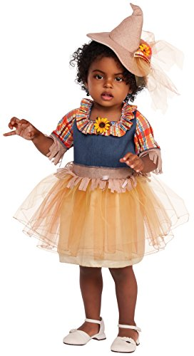 Girl Halloween Farmer Costume (Rubies Costume Child's Sweet Scarecrow Costume, X-Small,)