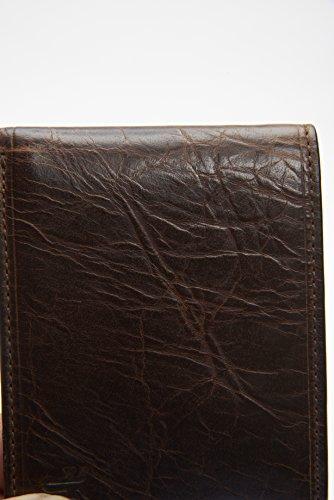 Delgada Del Billetera De Hombres Frye Marrón Oscuro Identificación Logan tdFxSWqF