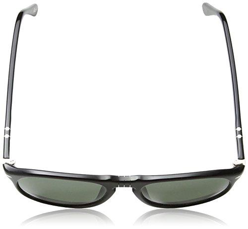 Adulto Black Gafas Unisex de Sol Persol Negro Green v6q7Ivw