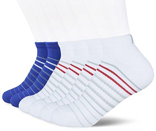 Kold Feet Women's Athletic 6-Pack No Show Running Socks Stripe Cushioned Low Cut Comfort fit – DiZiSports Store