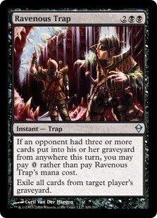 Magic: the Gathering - Ravenous Trap (109) - Zendikar - Foil