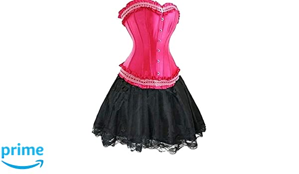 Forever Young Ladies Pink Burlesque Moulin Rouge Lolita ...