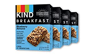 KIND Breakfast Blueberry Amond, 16 Count