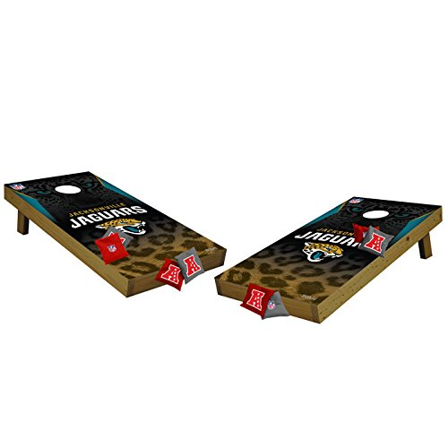 NFL Jacksonville Jaguars Tailgate Toss Tournament Cornhole Set, Medium, Multicolor